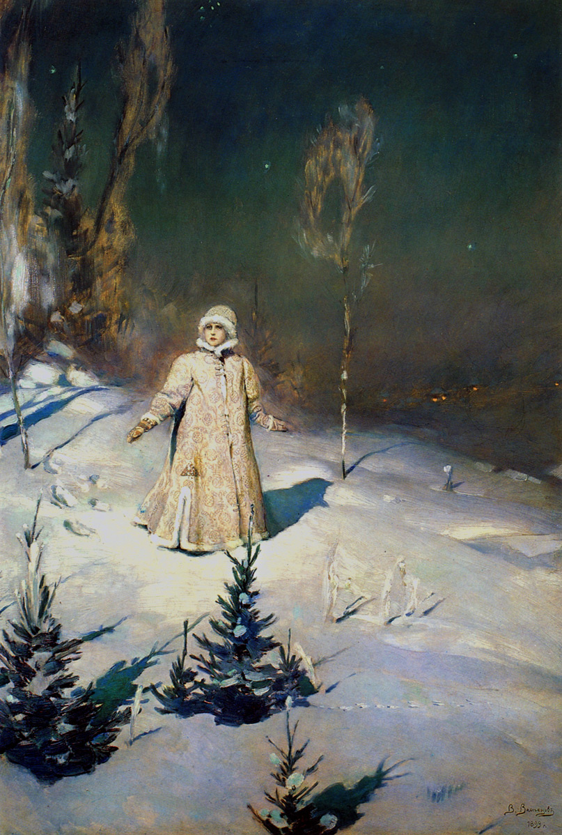 Картина Васнецова Баян: art-portrets.ru/artists/kartina-vasnetsova-snegurochka.html