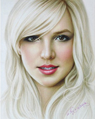 Drawing Britney Spears