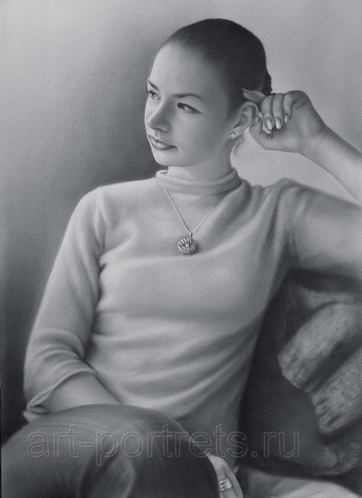 Лирический портрет девушки