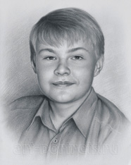 Drawing of a boy