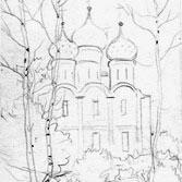Рисованная церковь