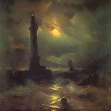 Неаполитанский маяк 1842 г