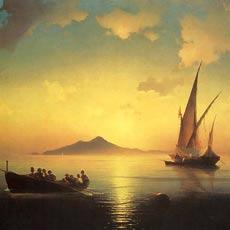 Неаполитанский залив 1841 г