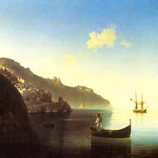 Побережье в Амальфи 1841 г
