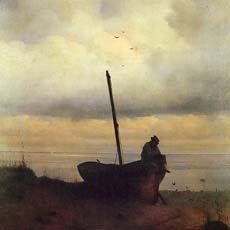 Вид на взморье в окрестностях Петербурга 1835 г